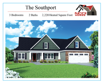The Southport Home Plan Lake View New Bern NC