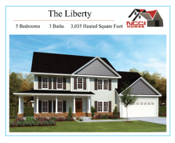 The Liberty Home Plan Lake View New Bern NC