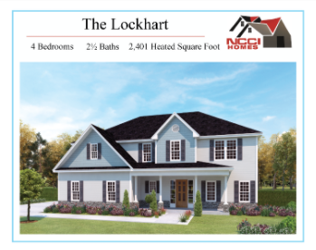 The Lockhart Plan Lake View New Bern NC