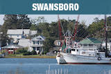Swansboro NC Fishing boats