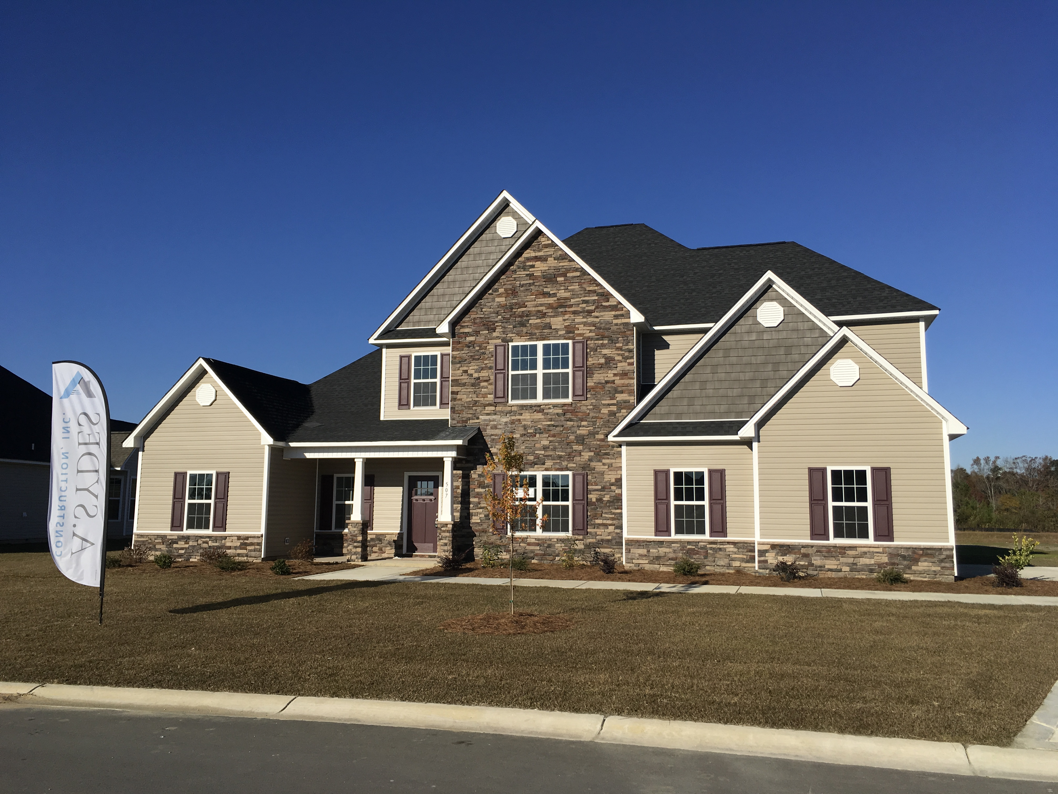 Avalon plan in Bluewater Rise, New Bern NC