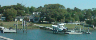 cape carteret nc waterfront home boats