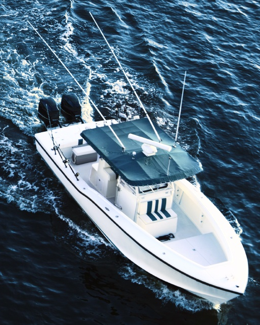 boat on water fishing trolling first carolina realtors