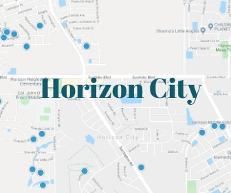 homes for sale in horizon city tx