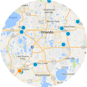 Waterford Lakes Real Estate Map Search