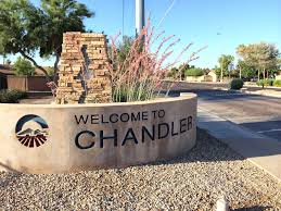 Chandler City Sign