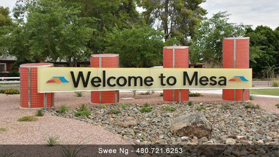Mesa City Sign