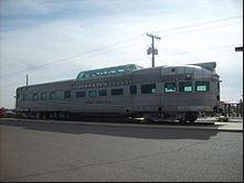 Railcar at Train Station