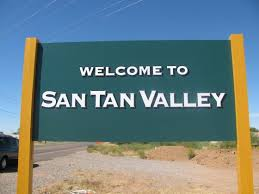 San Tan Valley City Sign
