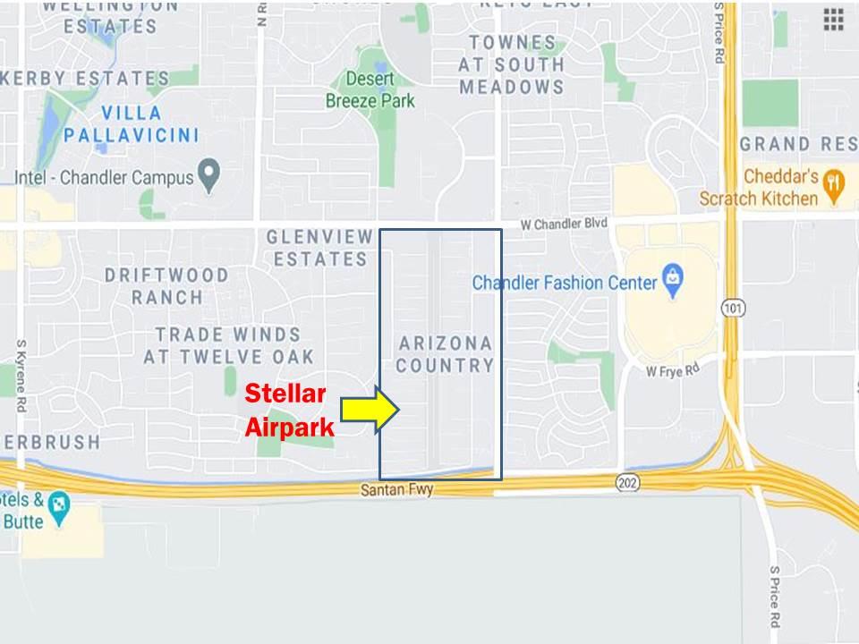 Stellar Airpark Map