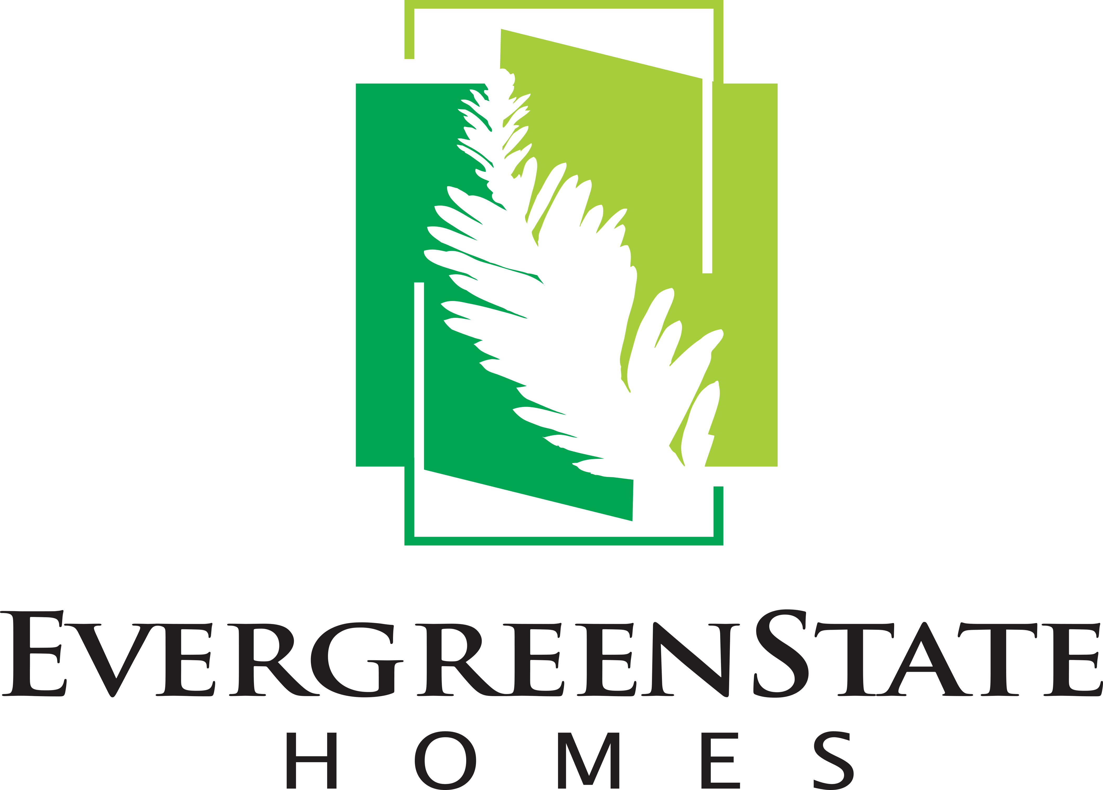 Evergreen State Homes Logo