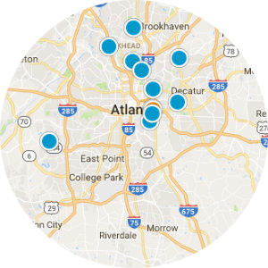 Atlanta Real Estate Map Search
