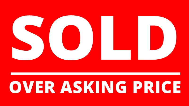 Image result for above asking price