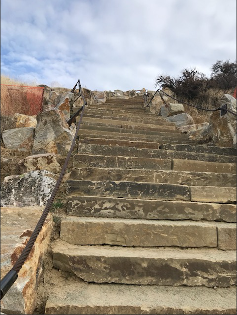Camels Back Park Staircase