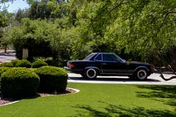 classic mercedes scotch 80s style