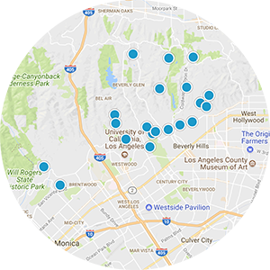 Hollywood Hills West Real Estate Map Search