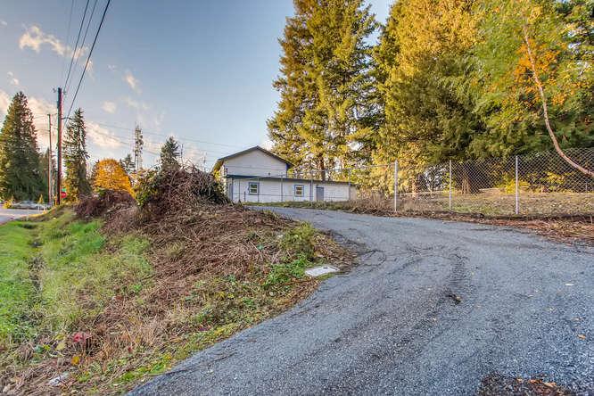 Property sits on 1/3 acre 2 entrances