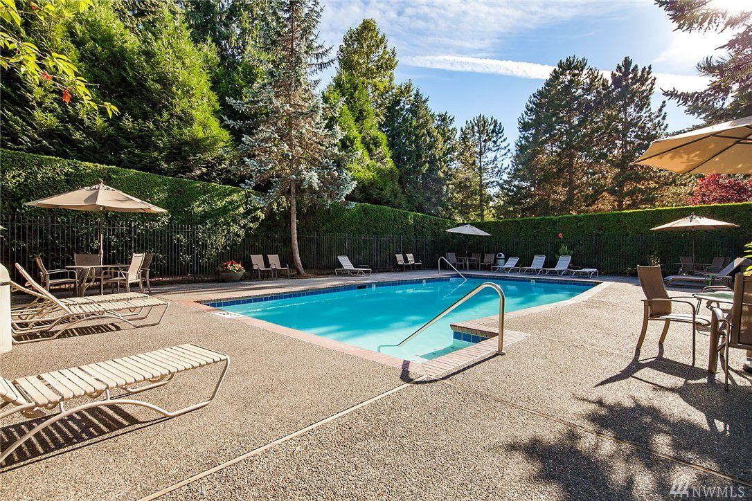 Swimming pool-Kirkland condo