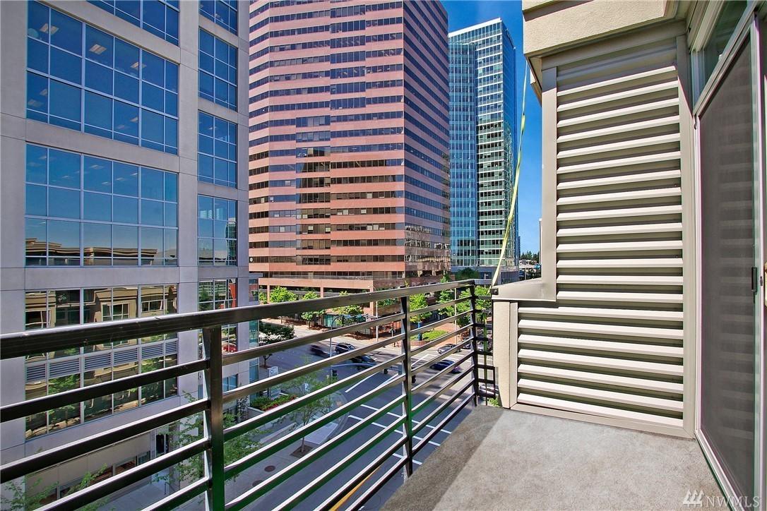 Downtown Bellevue Condo-Balcony