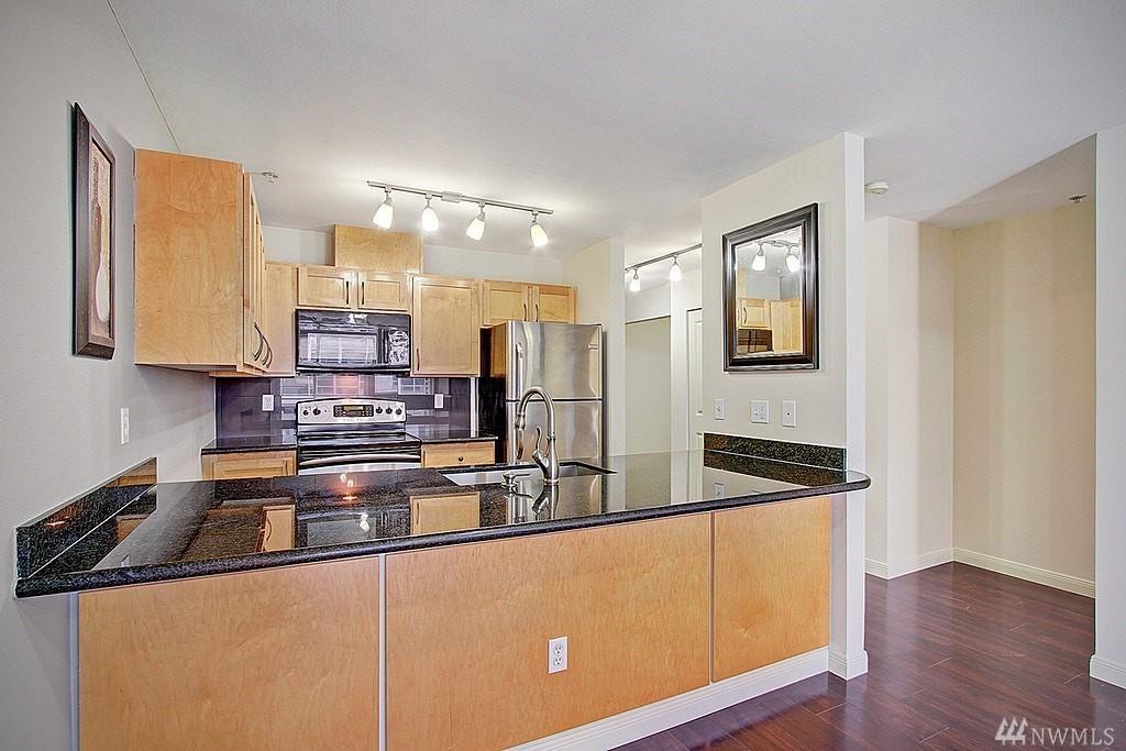 Downtown Bellevue Condo-Updated Kitchen