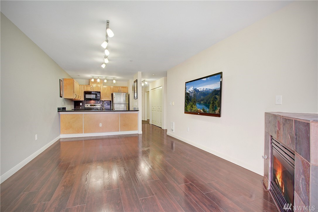 Downtown Bellevue Condo-Living room