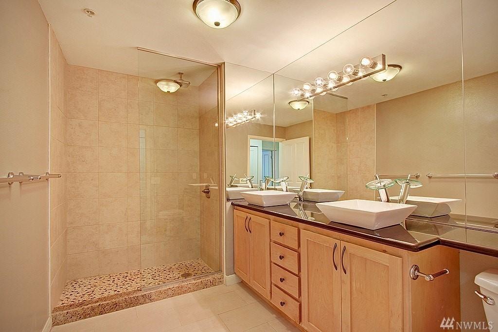 Downtown Bellevue Condo-Updated Bathrooms