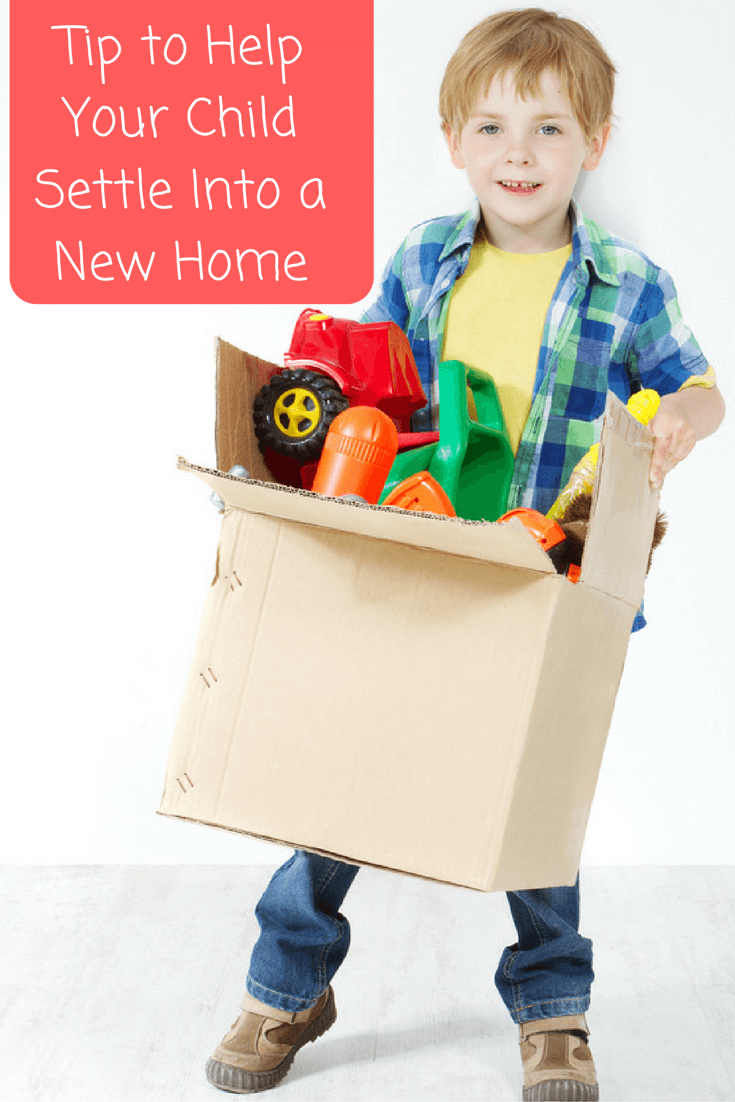 Tip to Help Your Child Settle Into a New Home