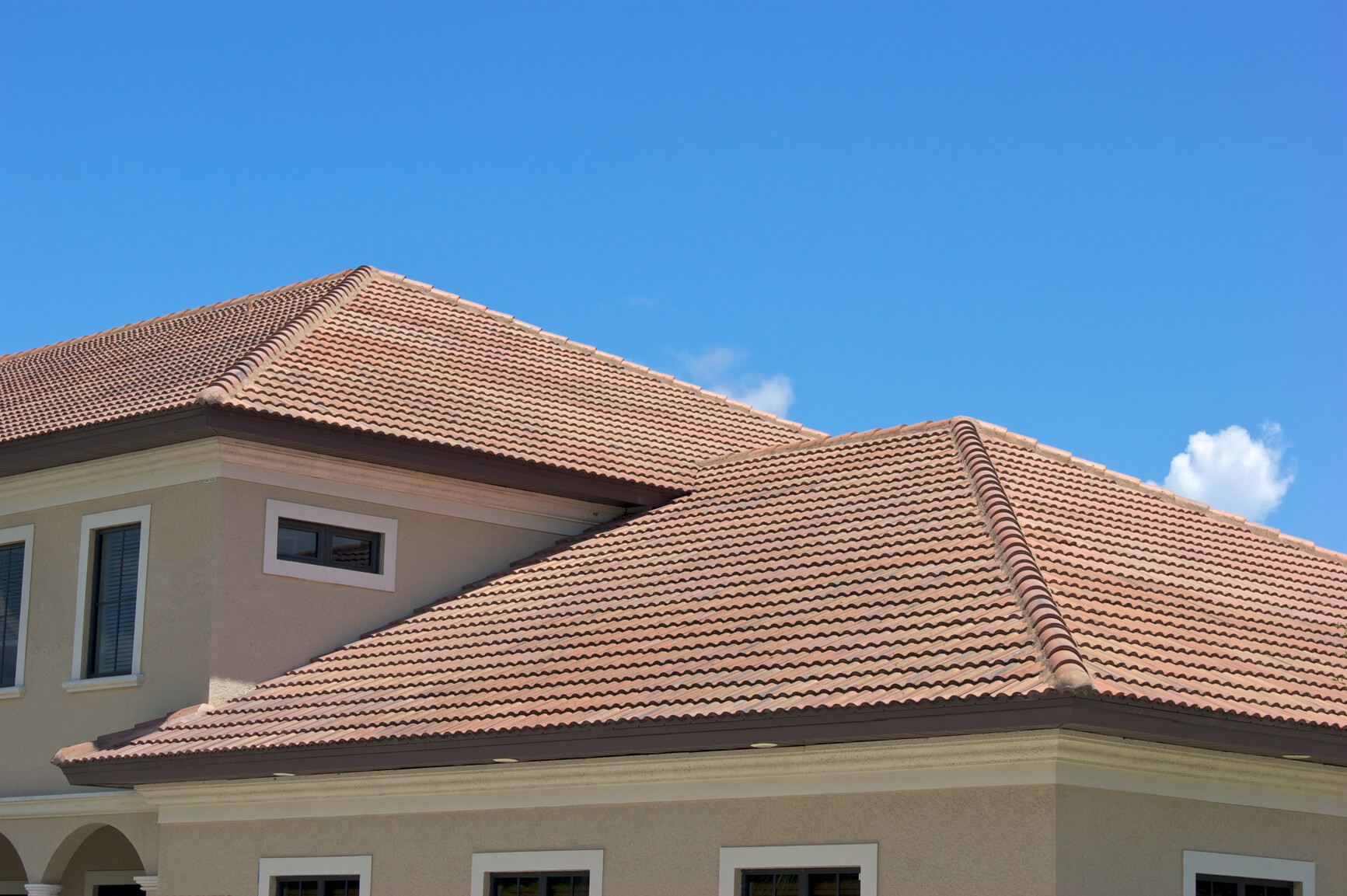 Concrete tile roof cost home design ideas and pictures for Most expensive roof material