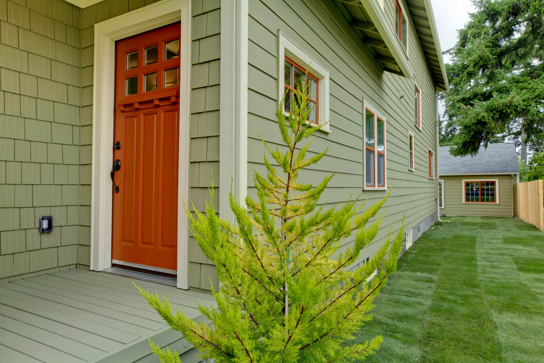 Budget Friendly Curb Appeal Ideas: Paint The Front Door