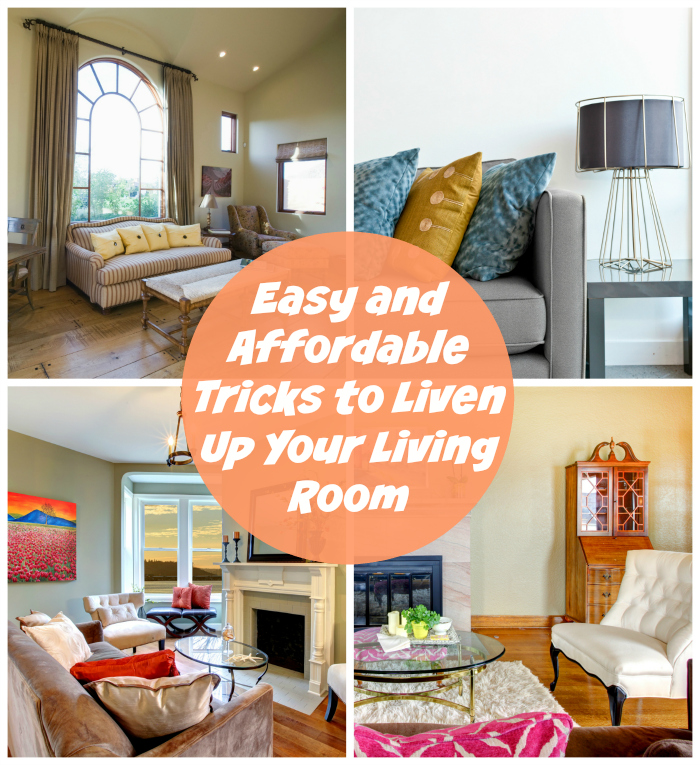 Easy and Affordable Tricks to Liven Up Your Living Room