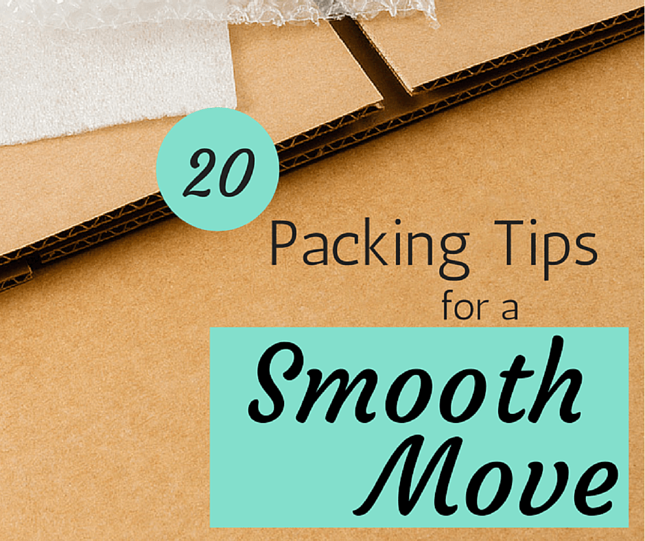 20 Packing Tips for a Smooth Move