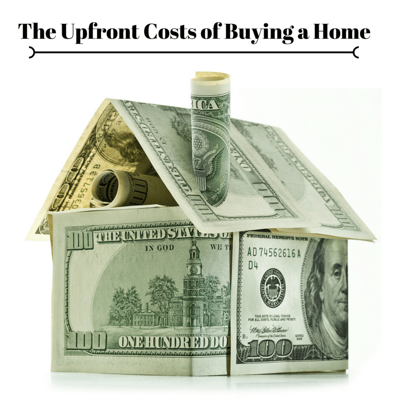 The Upfront Costs of Buying a Home