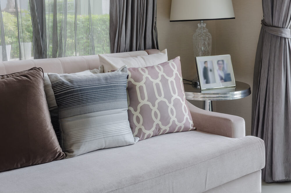 5 Design Tips for Every Living Room: Throw Around a Few Throw Pillows