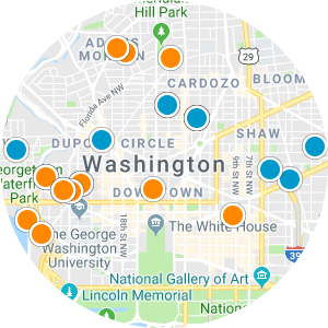 Dupont Circle Real Estate Map Search