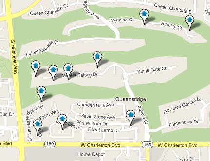 Queensridge Map