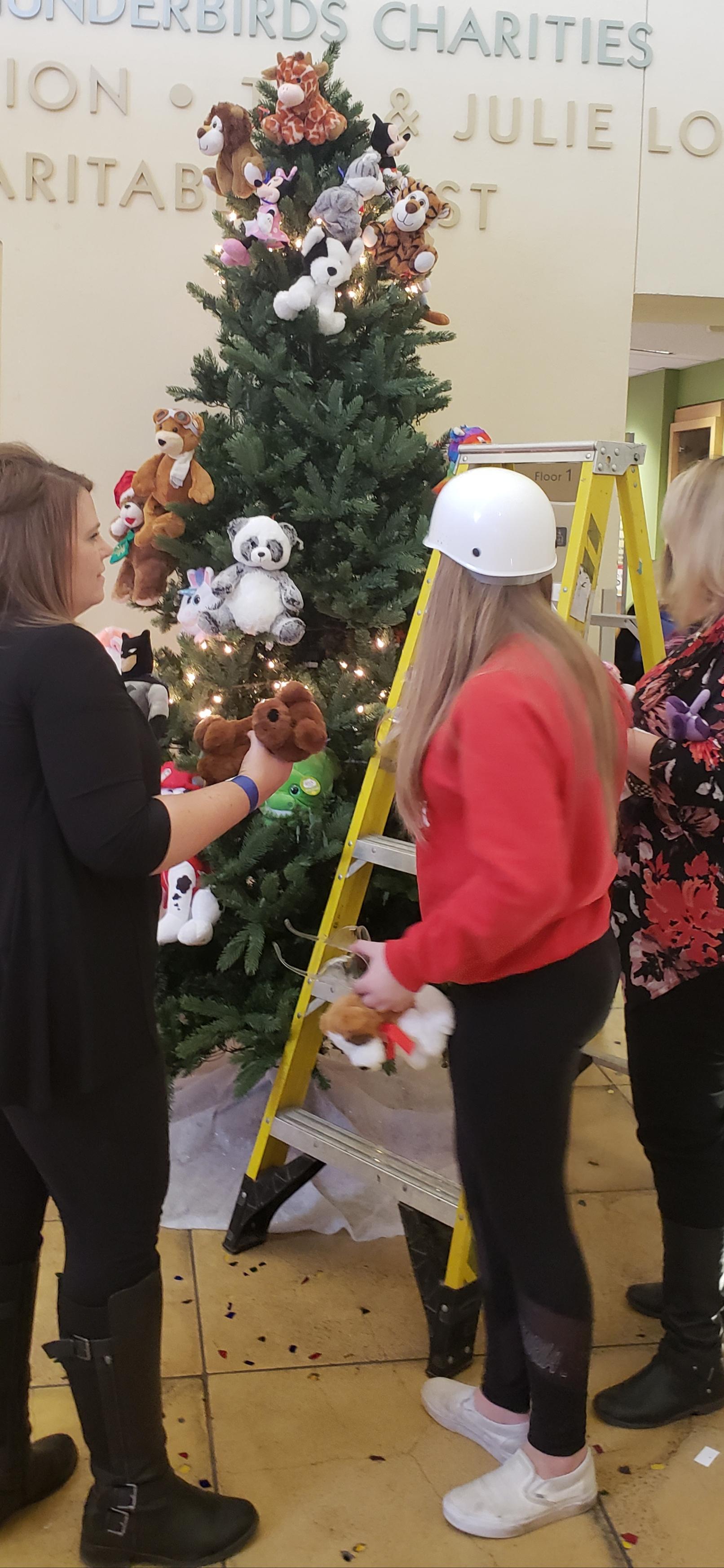 The Drew Team PCH Tree decorate 2018