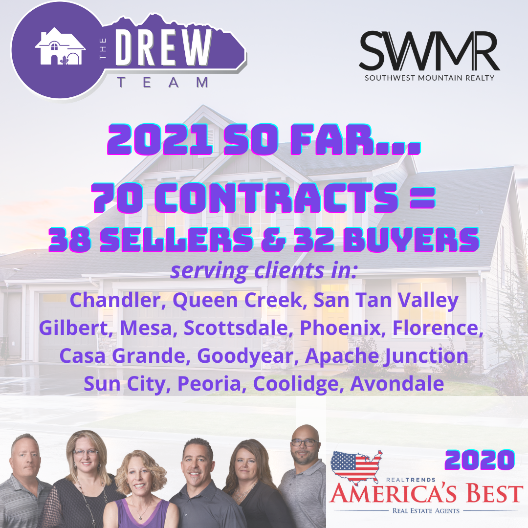 The Drew Team Reaching YOUR Goals in real estate Arizona