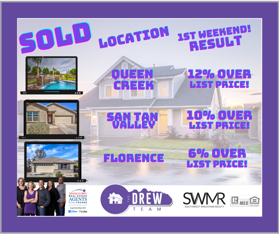 The Drew Team sell homes fast for top dollar less stress