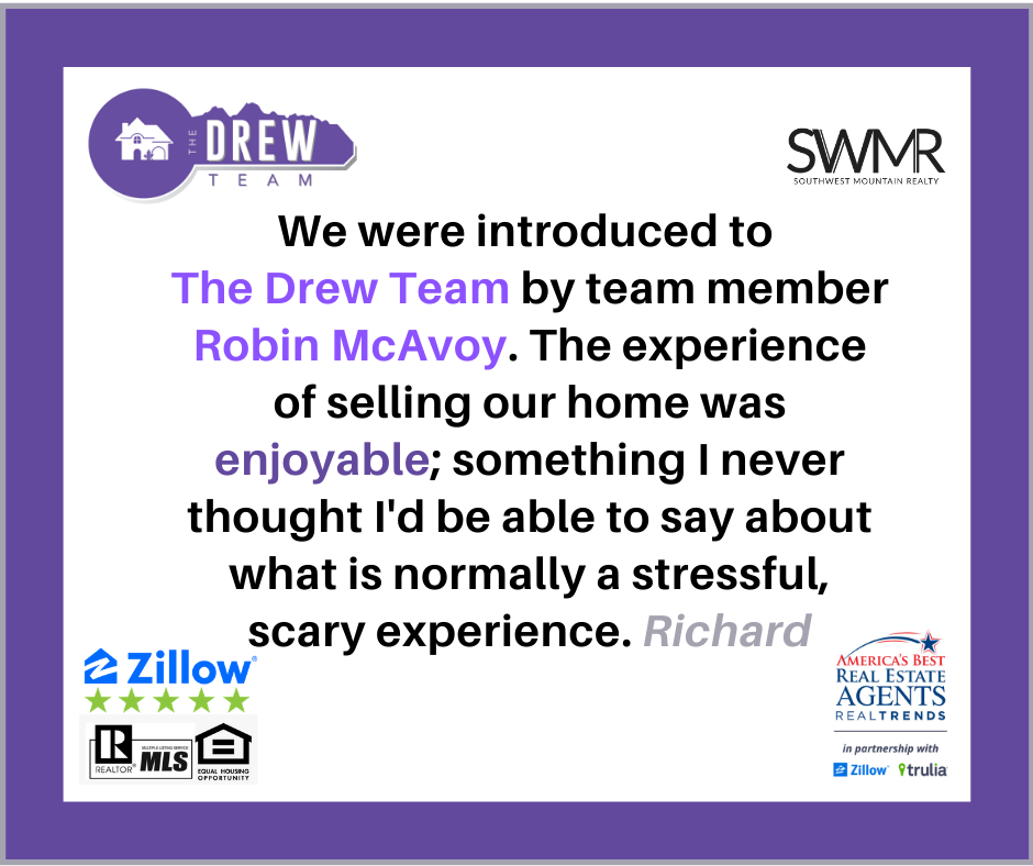 Great Experience sell buy home The Drew team