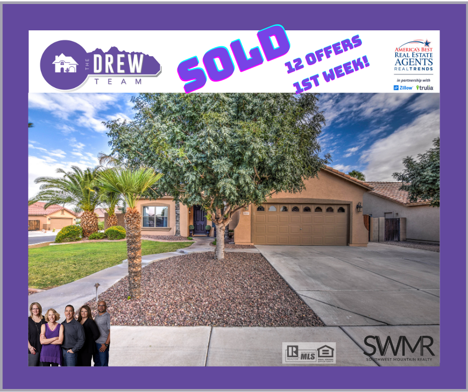 Sold First Weekend with The Drew Team real estate at SWMR