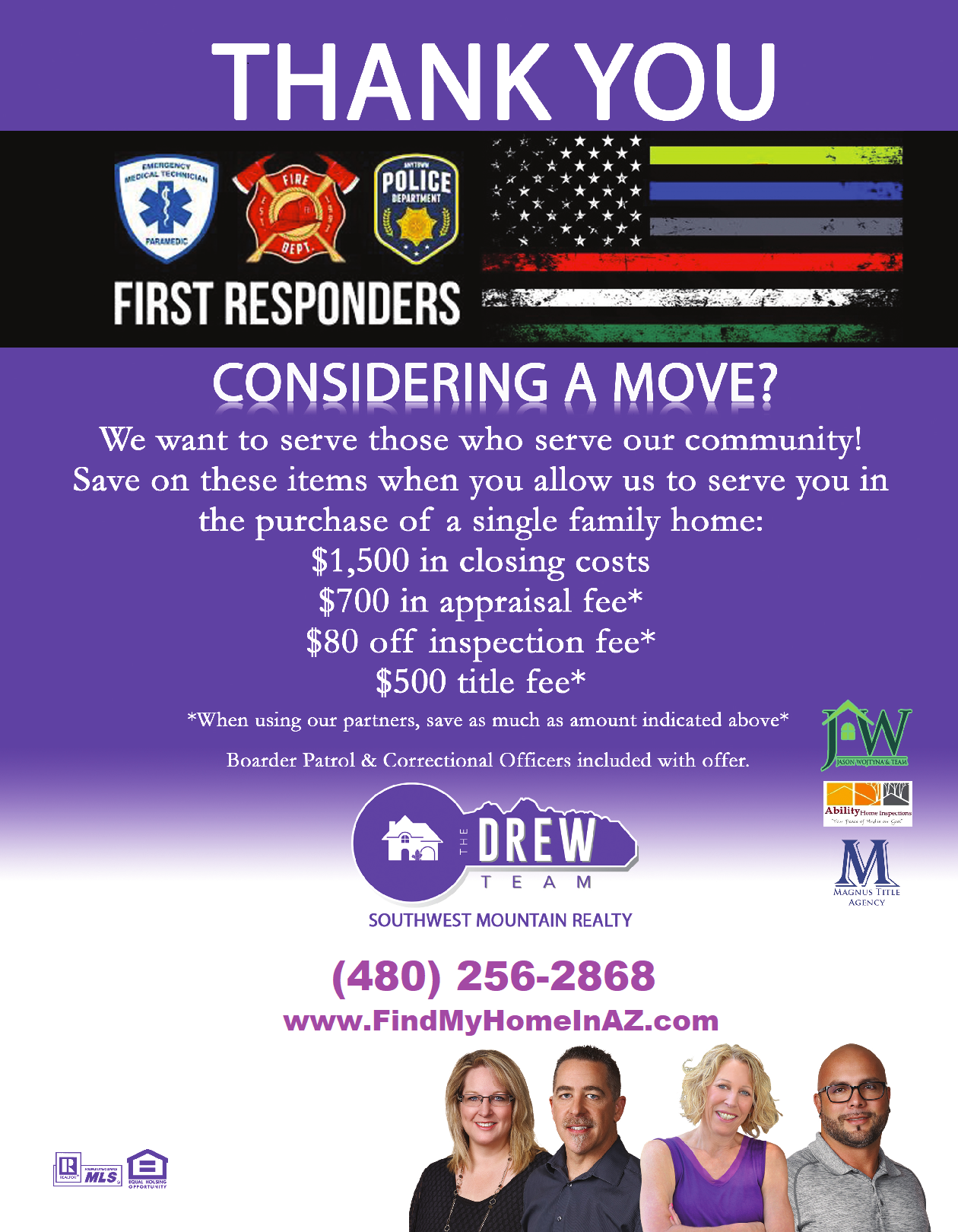 The Drew Team Saving First Responders Thousands