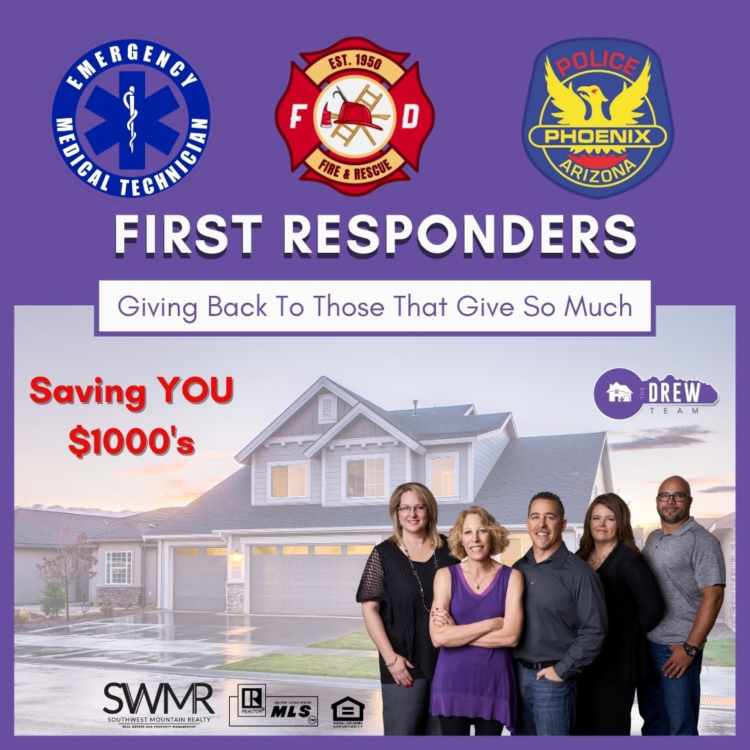 The Drew Team serving First Responders in saving thousands