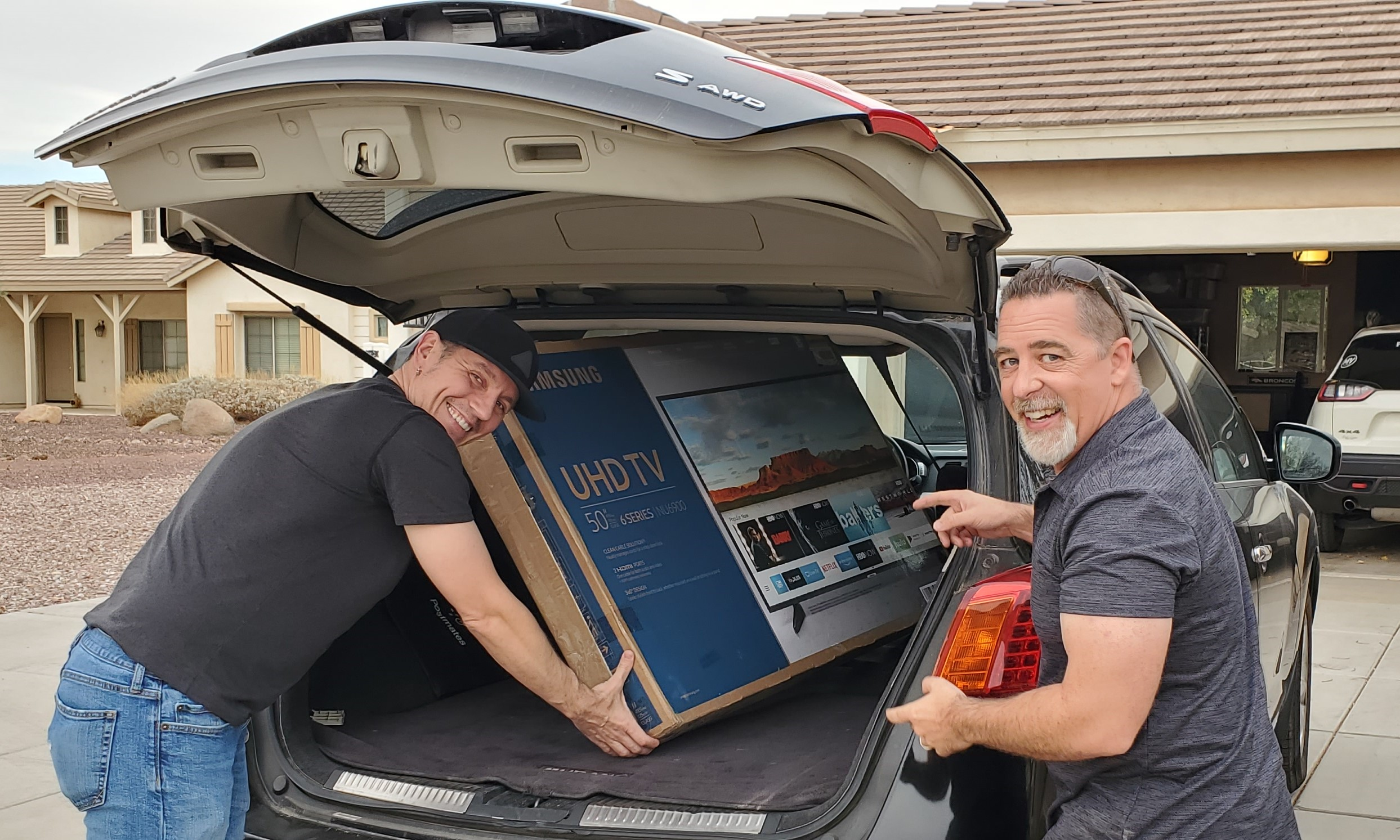 The Drew Team TV giveaway past clients