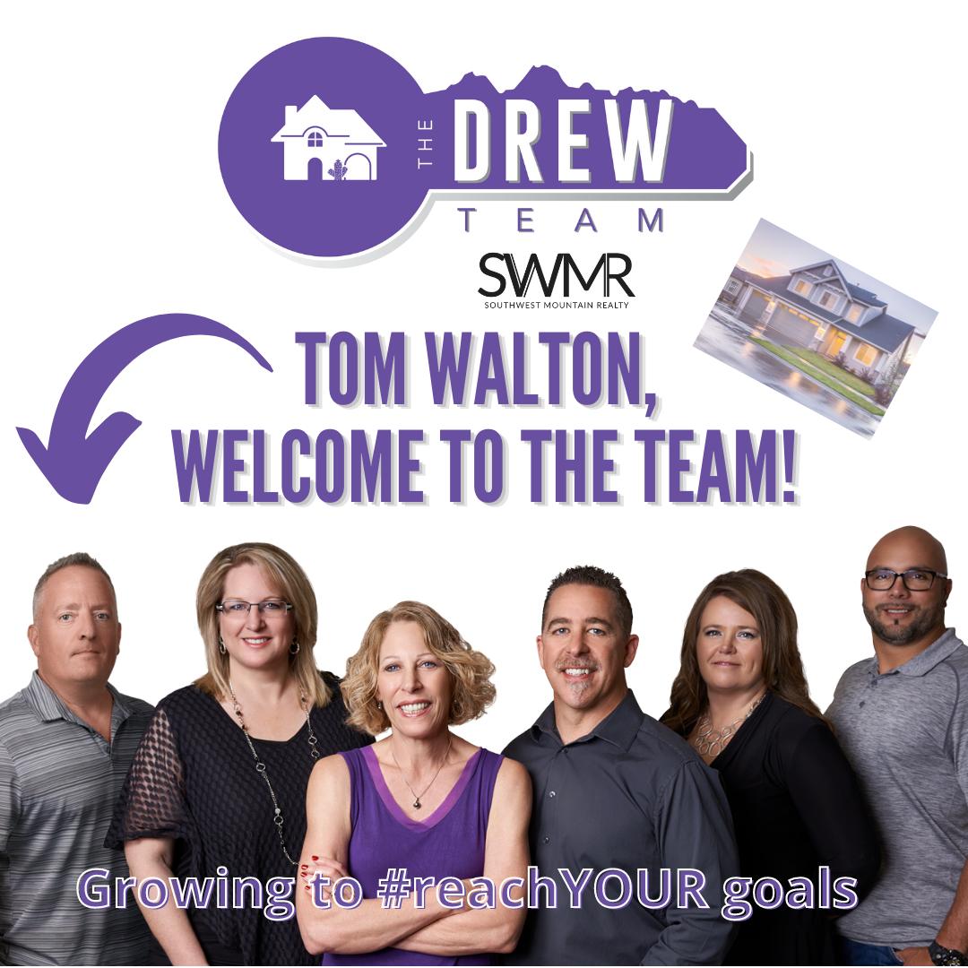 The Drew Team Welcomes Tom Walton