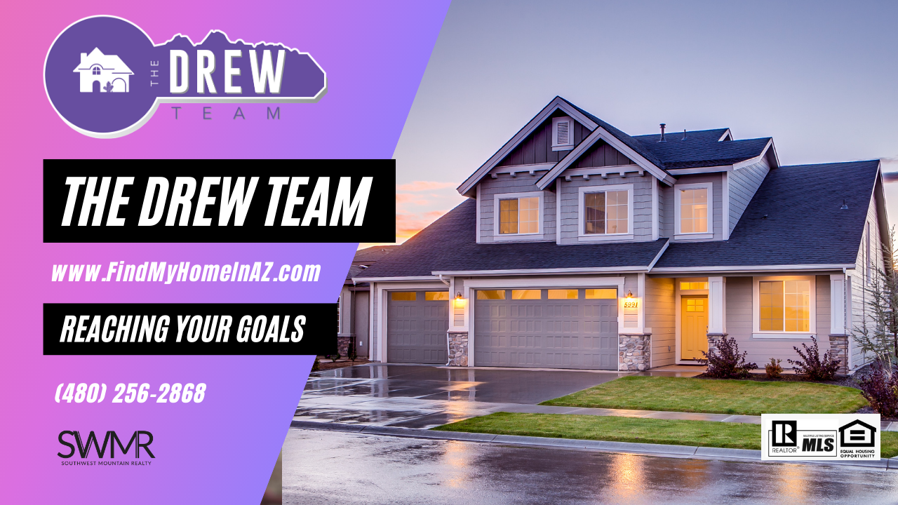 The Drew Team Winning for YOU in real estate home sales and purchase arizona