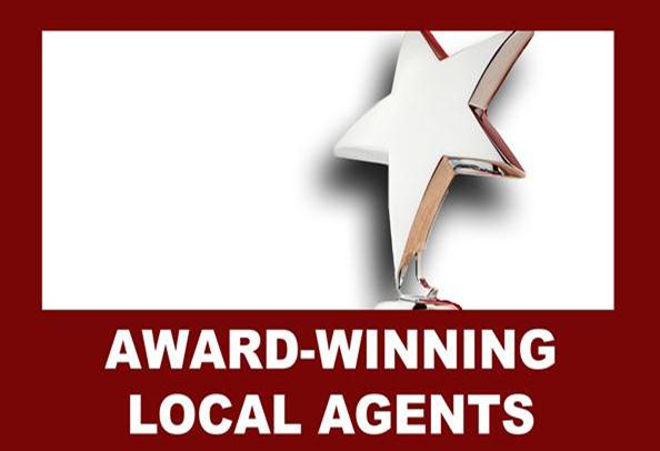 Award winning Agents