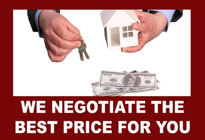 Negotiate best home prices