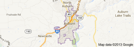 Auburn CA Real Estate Map Search