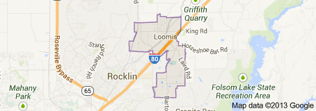 Loomis CA Real Estate Map Search