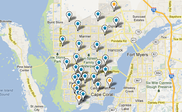 Cape Coral Home Search